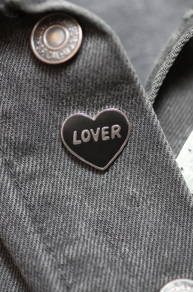 Lover Enamel Pin