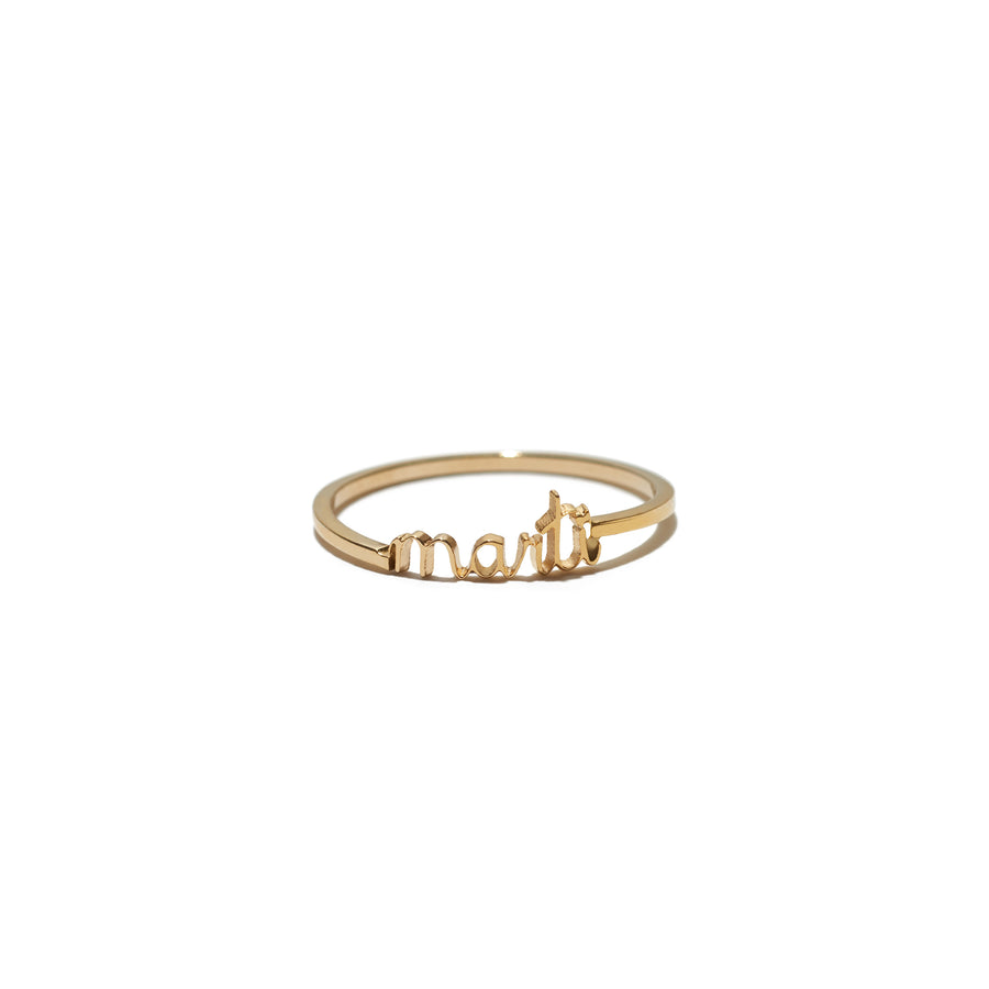 mini name ring
