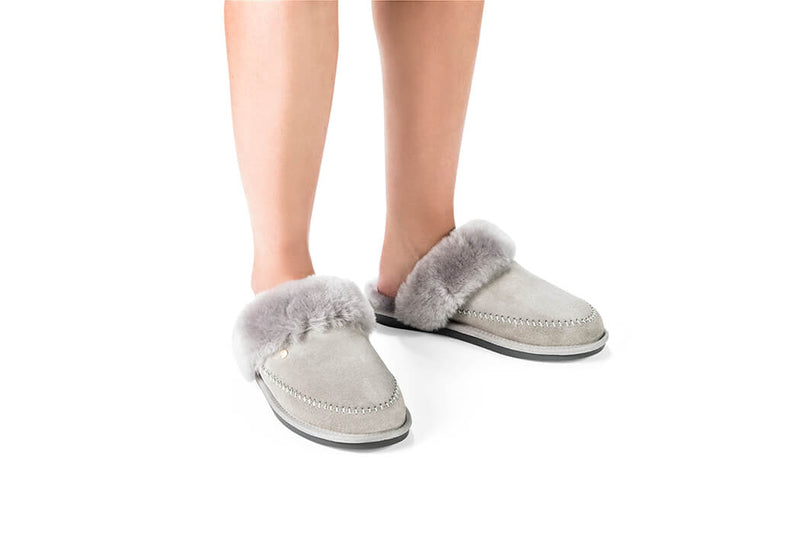House Shoe Cushy Grey