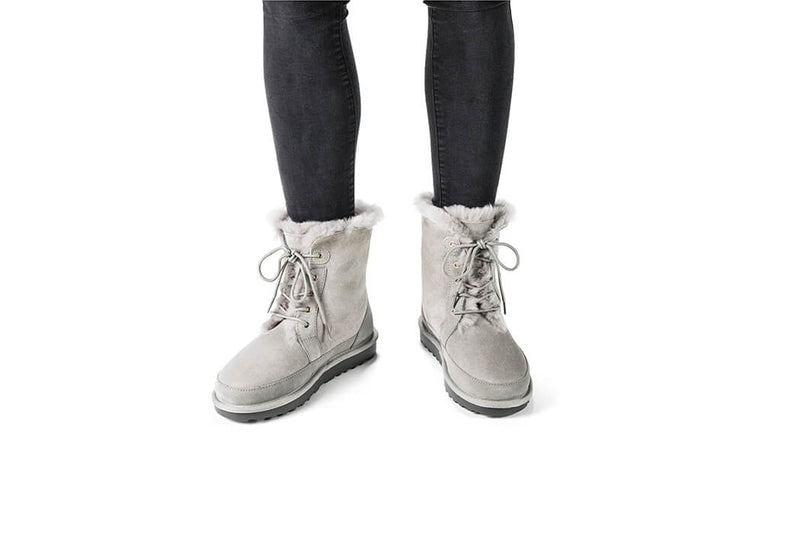 Winterboot Cozy Grey