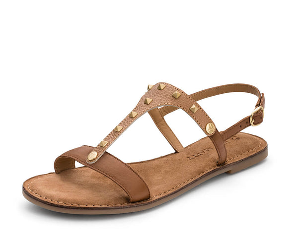 Rock Rebel - Comfort Riemen Cognac