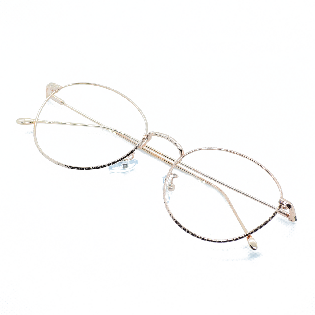 Round Metal Frame Eye Glasses - NUBAMALL
