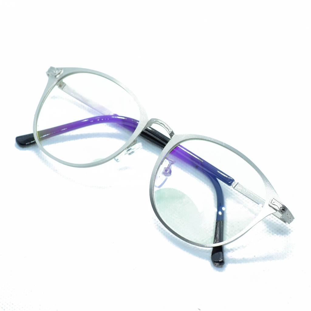 Stiff Metal Frame Eye Glasses - NUBAMALL
