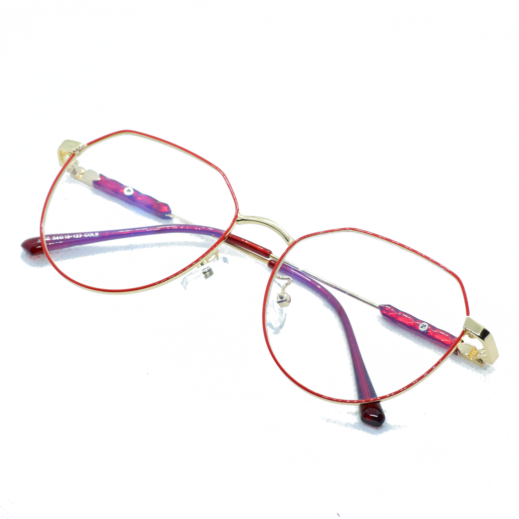 Thin Metal Frame Eye Glasses