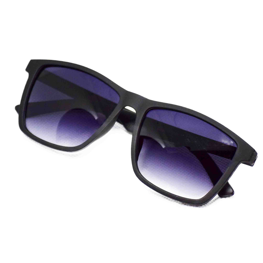 Acrylic Rectangular Full Frame Sun Glasses - NUBAMALL