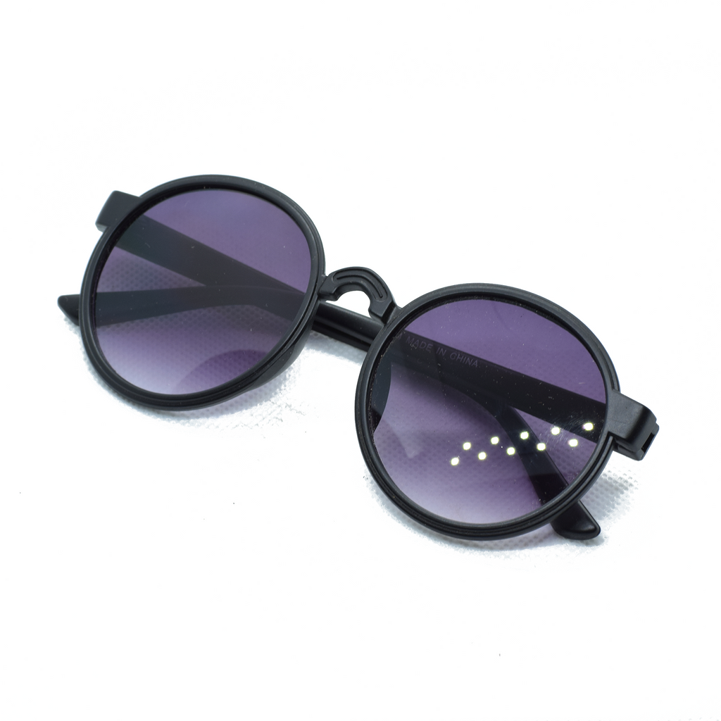 Circle Frame Sun Glasses - NUBAMALL