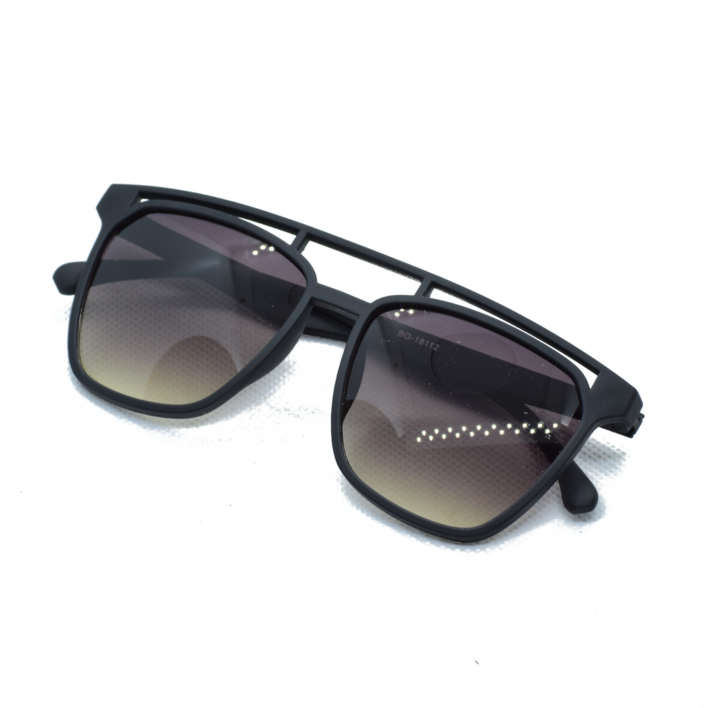 Semi Rectanlge Frame Sun Glasses