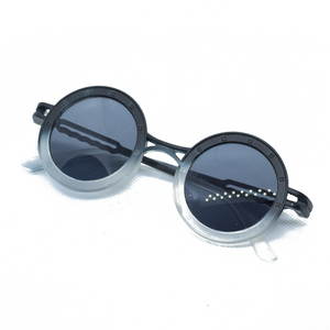 Circle Frame Stylish Sun Glasses - NUBAMALL
