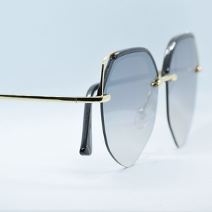 Metal Frame Stylish Sun Glasses - NUBAMALL