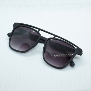 Semi Rectanlge Frame Sun Glasses - NUBAMALL