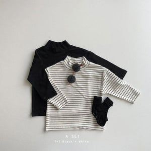 1+1 Turtleneck Tee