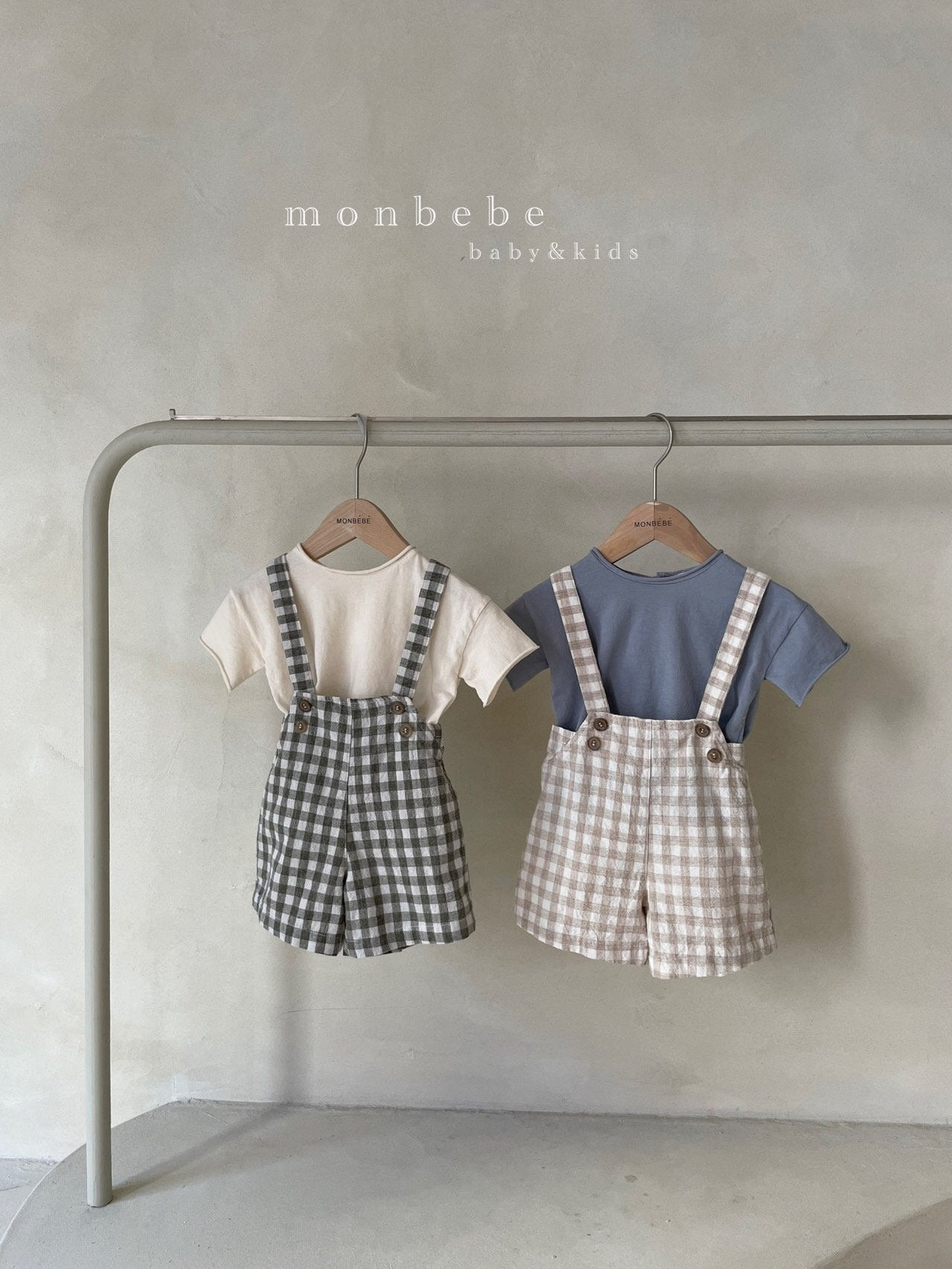(Pre-Order) Check Suspenders Bottom