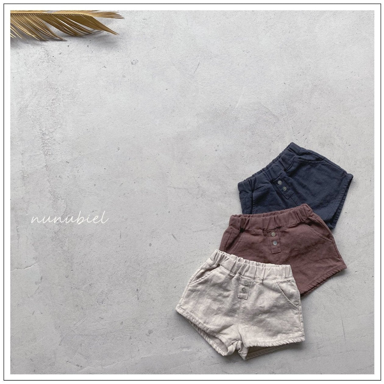 (Pre-Order) Two Button Short Pants