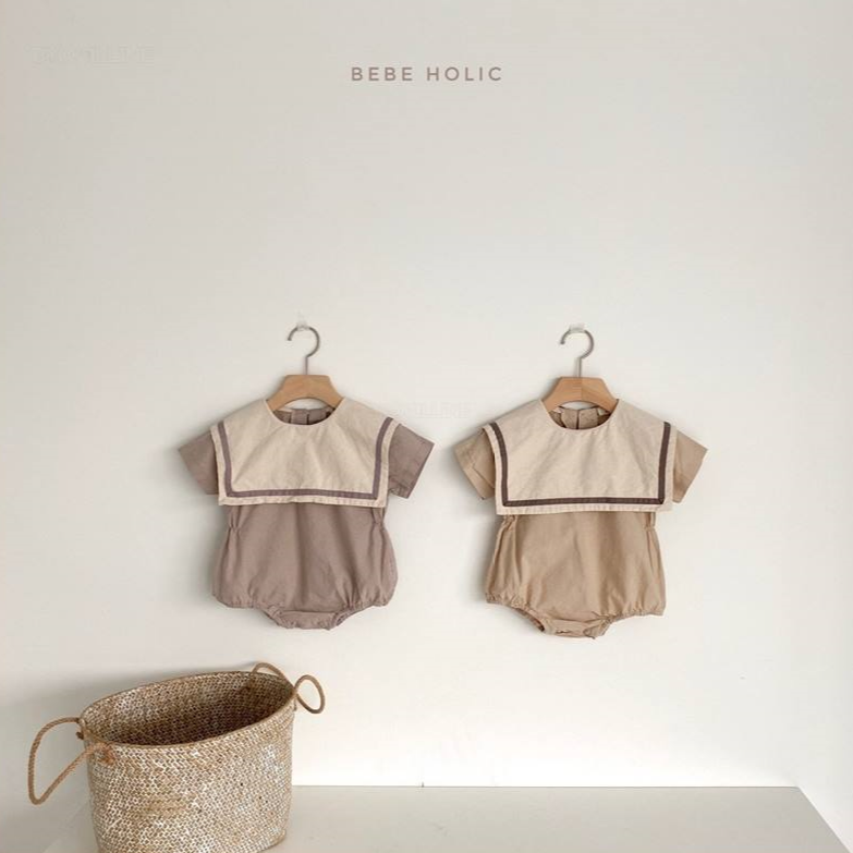 Cottony Marine Bodysuit - My Little Monkey
