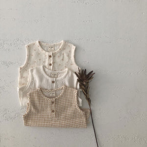 Prim Sleeveless Top