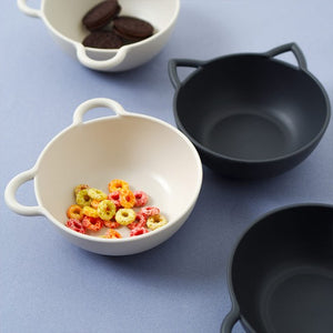Animal Cereal Bowl - Cat & Bear - My Little Monkey