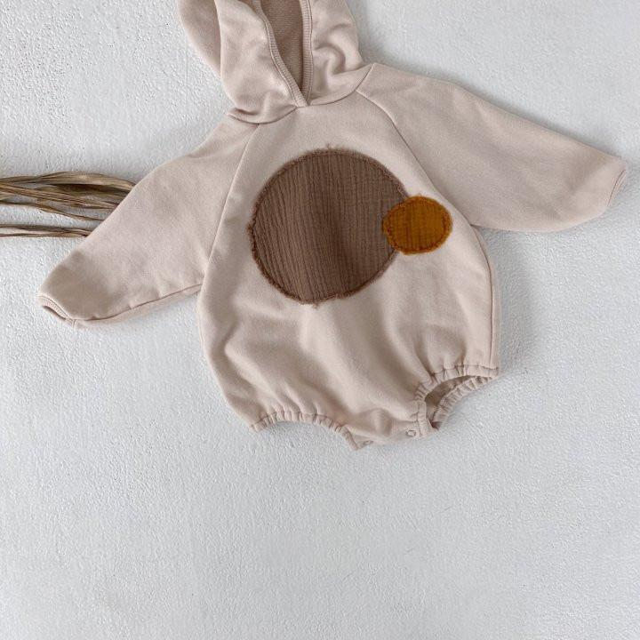 Round Patch Bodysuit