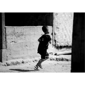 "FineArt-Print ""Run boy run; Laos"""