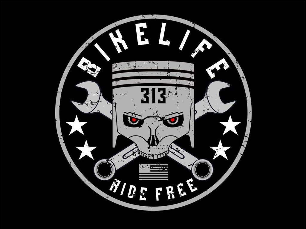 BIKE LIFE 313 STICKER