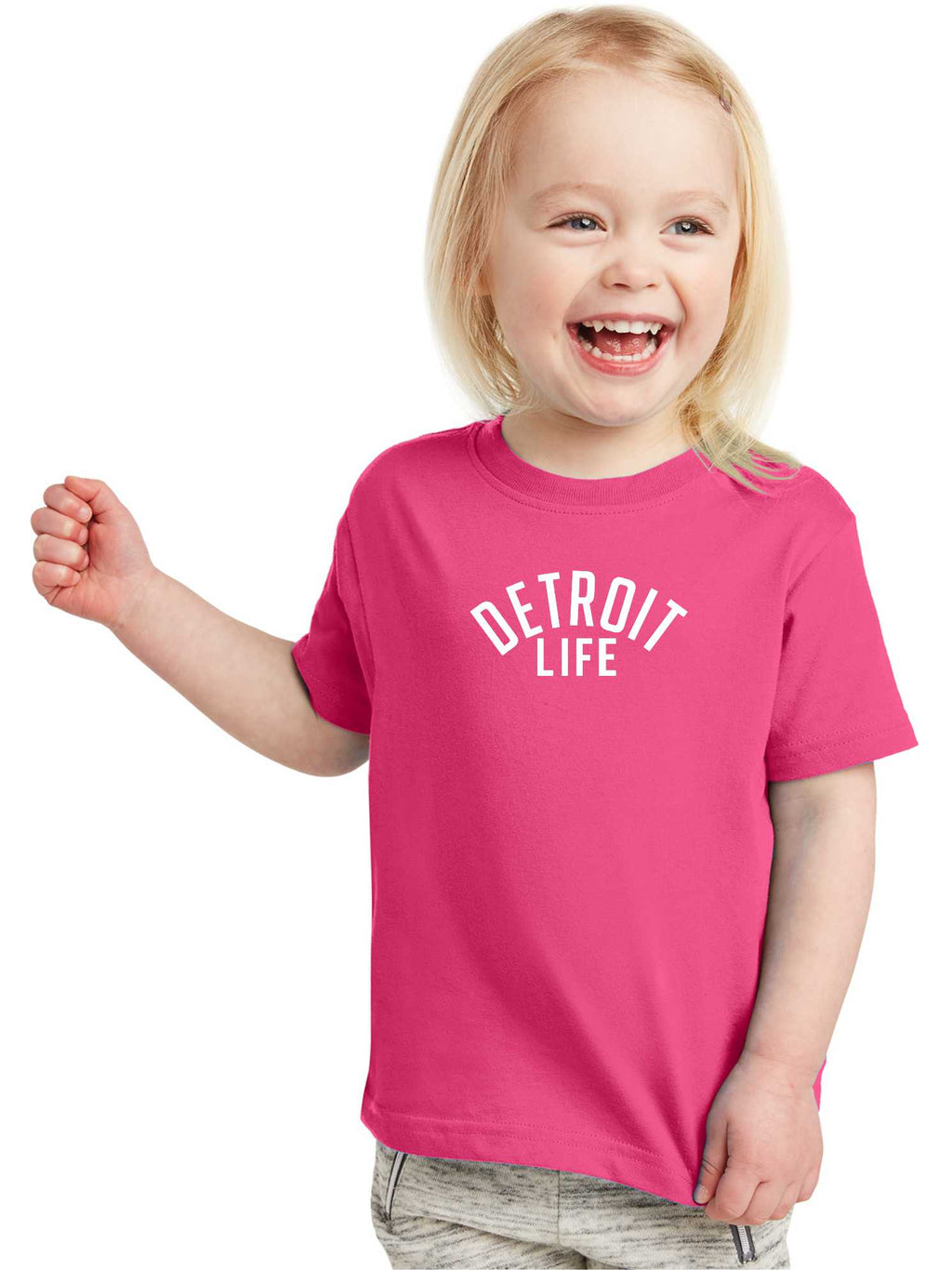 DETROIT LIFE TODDLER T SHIRT
