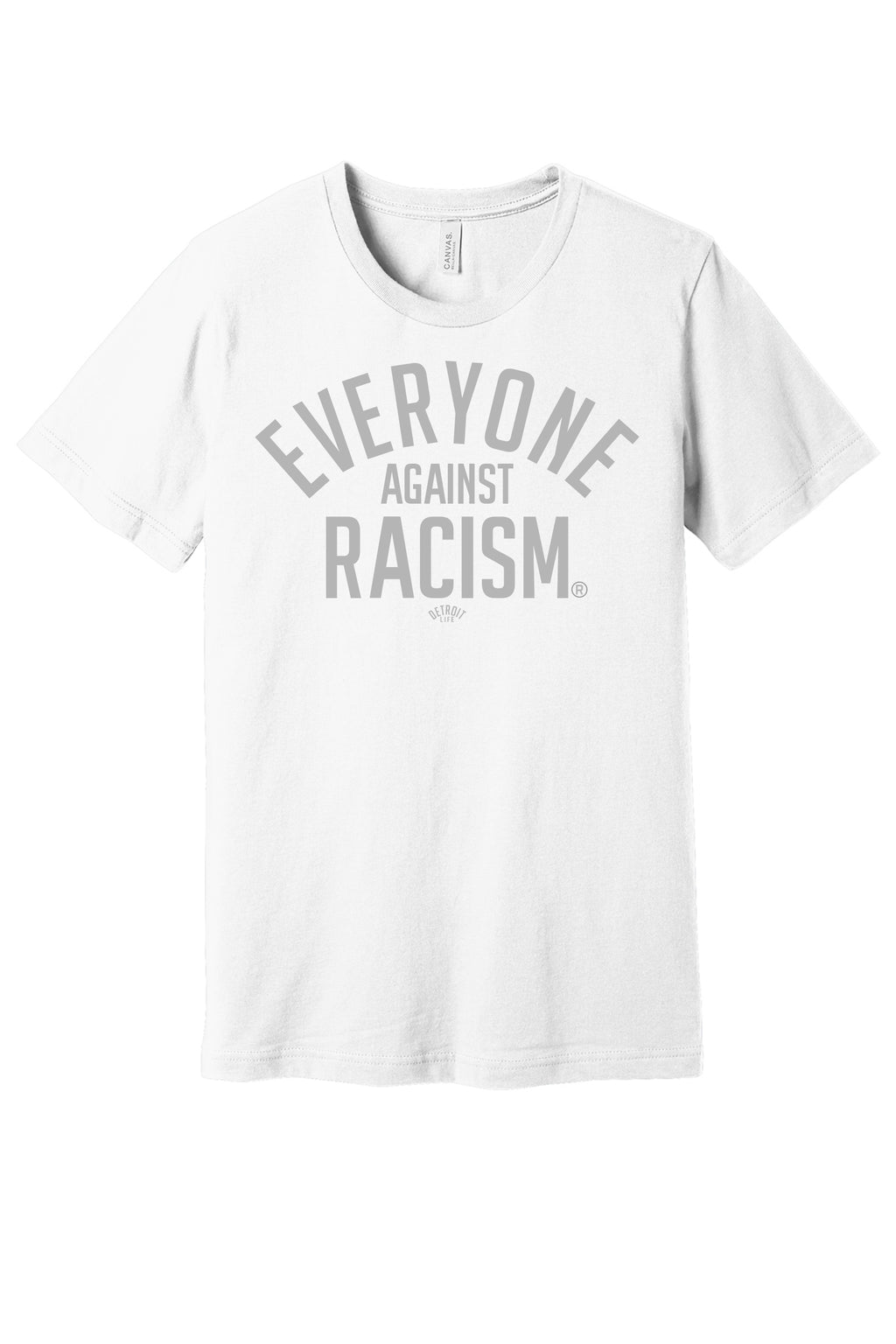 EVERYONE AGAINST RACISM T-SHIRT
