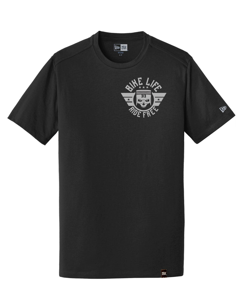 BIKE LIFE 313 PISTON SKULL T SHIRT