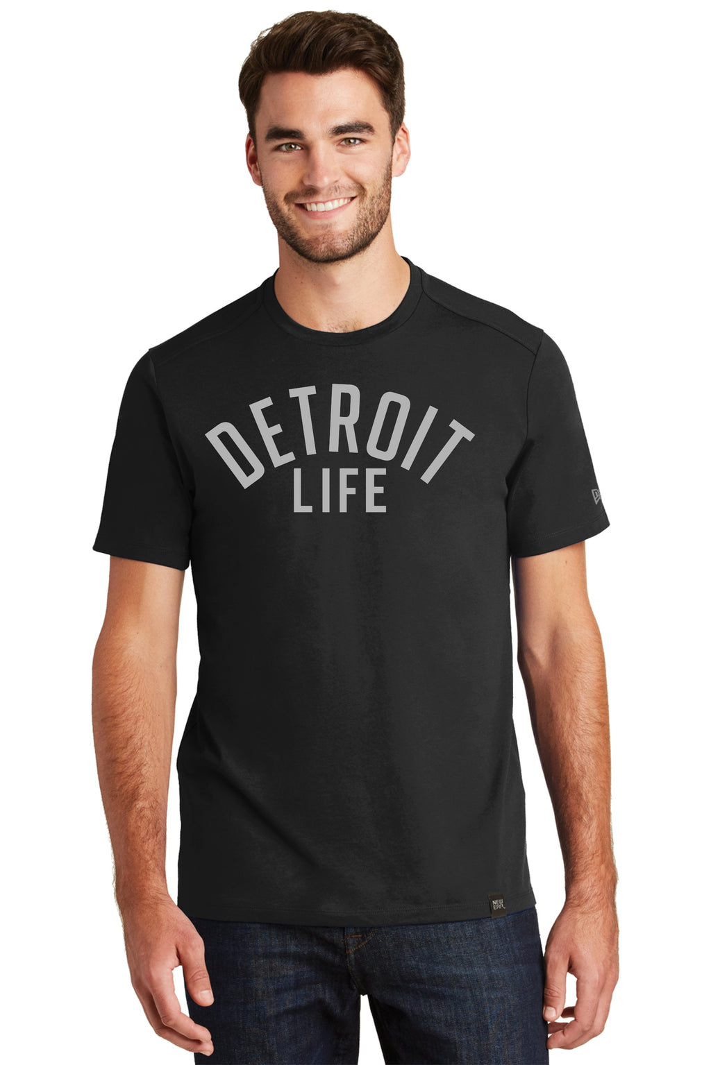 DETROIT LIFE NEW ERA T SHIRT