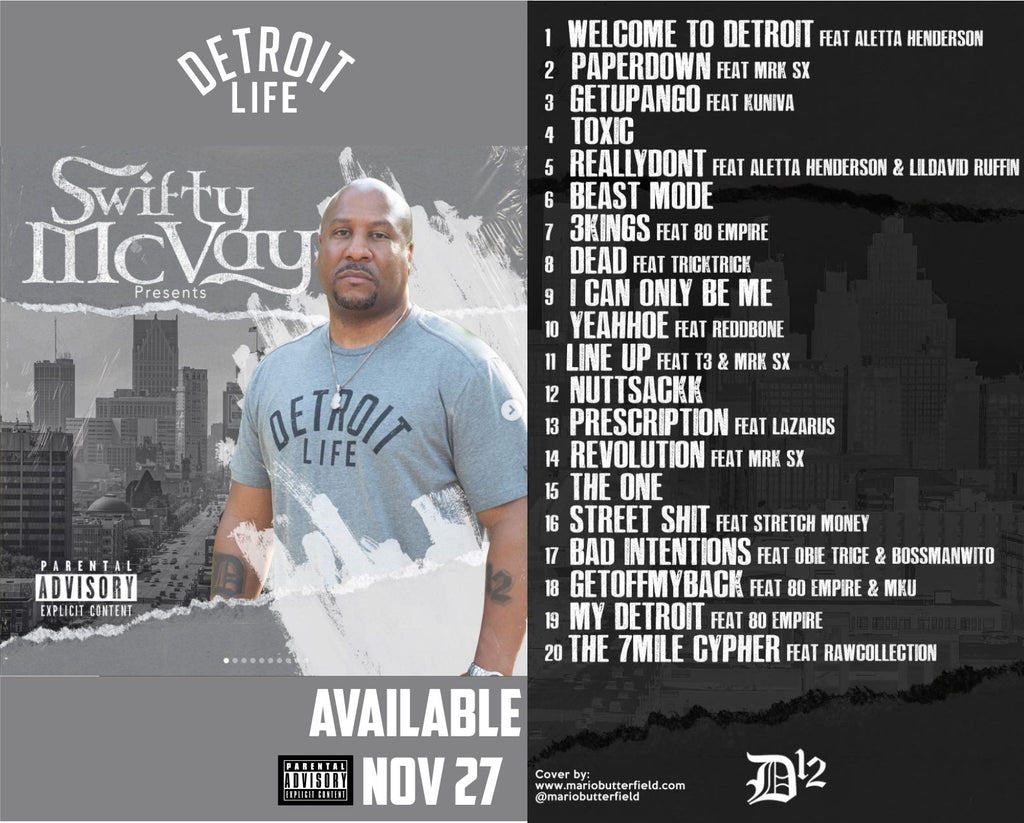 DETROIT LIFE LP (AUTOGRAPHED) CD