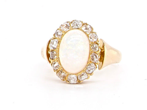 Victorian opal ring