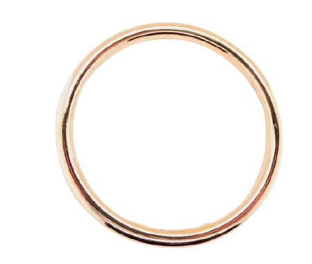 An early 20th century 'slave' bangle