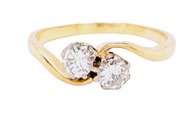 A two stone diamond ring *RESERVED*