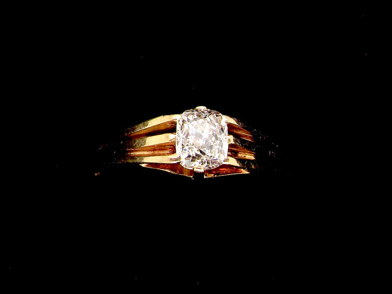 A man's diamond  3/4 carat ring
