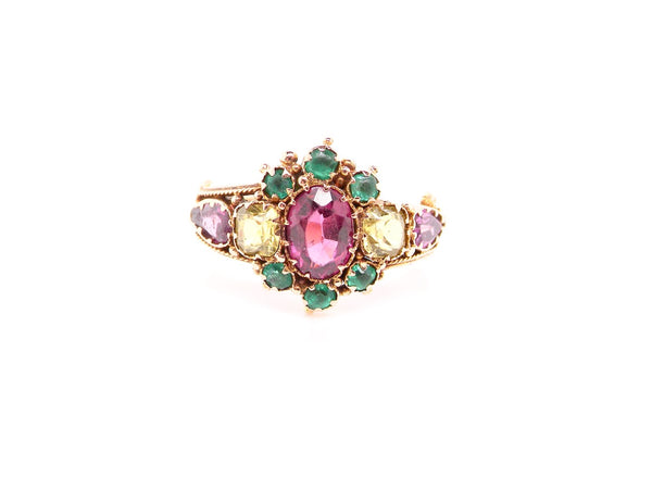 A pretty Victorian dress ring