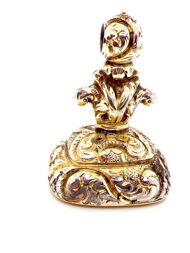 An antique fob seal