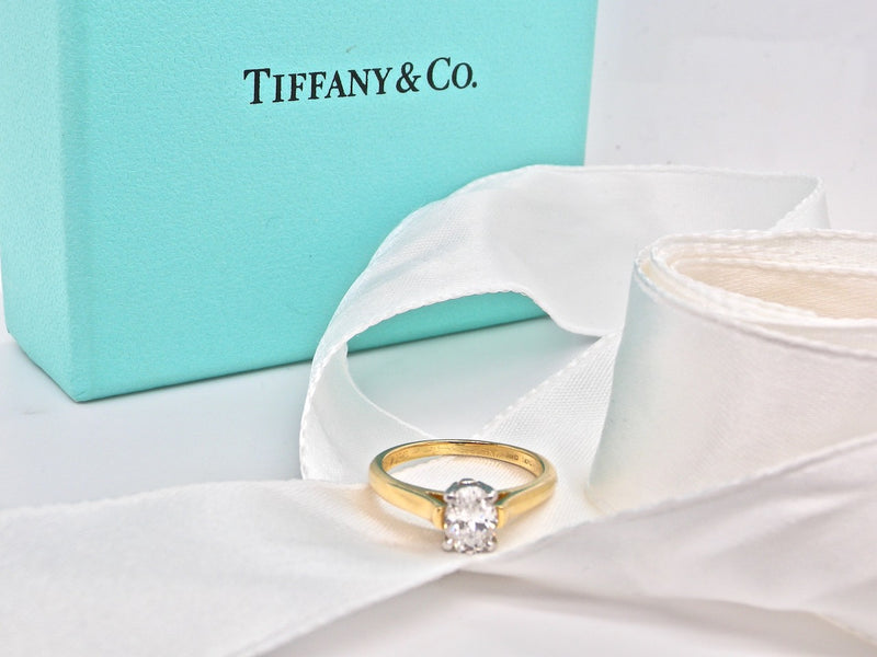 A solitaire diamond ring by Tiffany