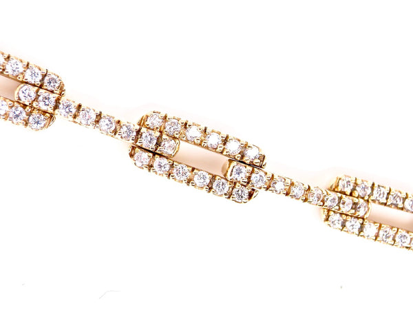 A fine diamond set bracelet