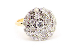 A vintage diamond cluster ring *RESERVED*