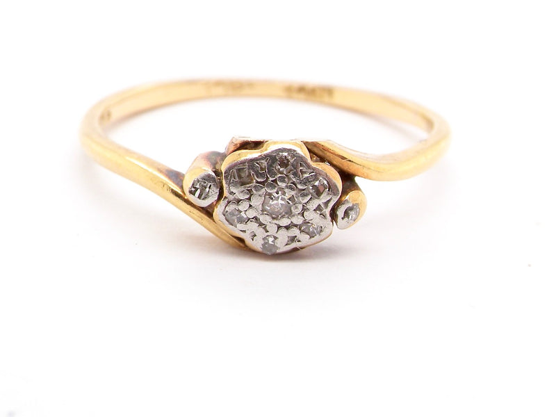 An Edwardian diamond ring