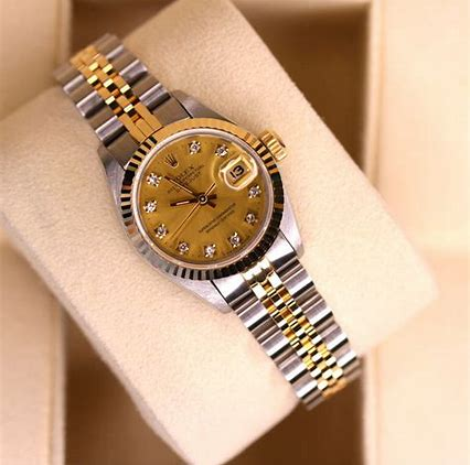Rolex woman's two tone Datejust, 69173 model