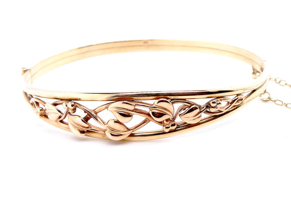 A Clogau 'Tree of Life' gold bangle
