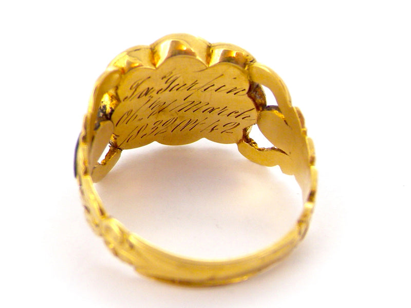 A William IV memorial ring *RESERVED*