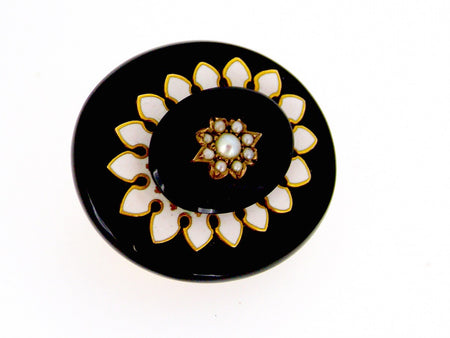 A Victorian memorial brooch-Now REDUCED- Save £40!