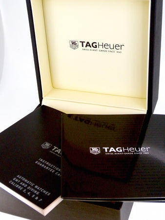 A man's Tag Heuer  Carrera Automatic 5 wrist watch.