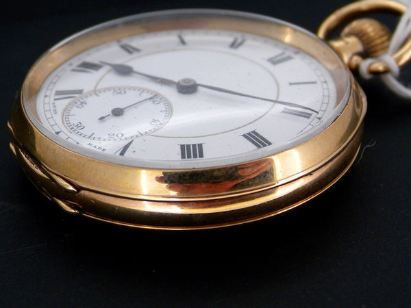 A 9 carat gold pocket watch *RESERVED*