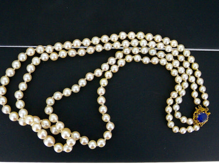 A double row of cultured pearls-REDUCED