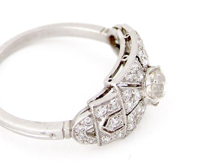 A fine Art Deco diamond ring