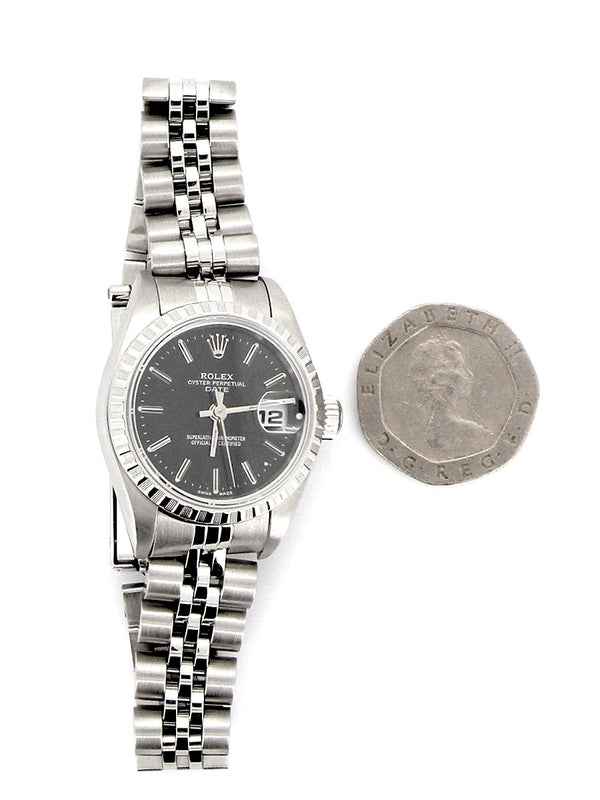 Woman's steel Rolex wrist watch model 79240