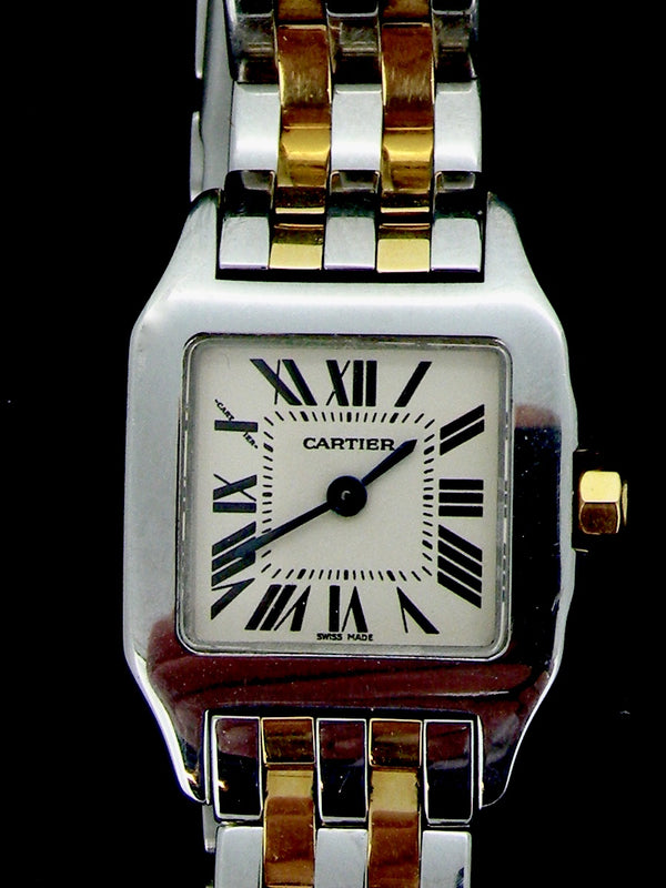 A woman's Cartier Demoiselle watch