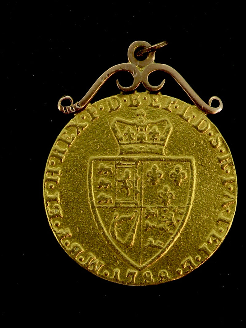 A gold 'spade' guinea dated 1788 *RESERVED*