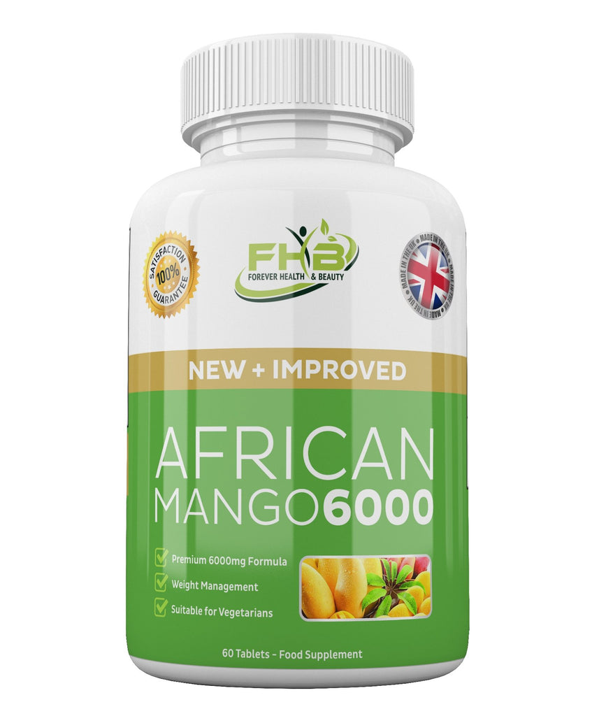 African Mango 6000 Leptin Fat Burner Lose Weight Fast 60 High Strength Diet Pills